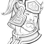 Portrait of Cao Ren from Dynasty Warriors 5