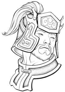 Portrait of Cao Ren from Dynasty Warriors 5