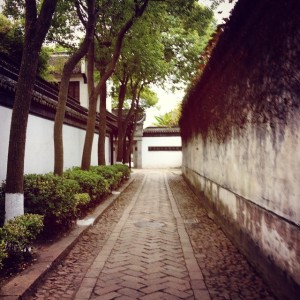 Tongli Town Alley