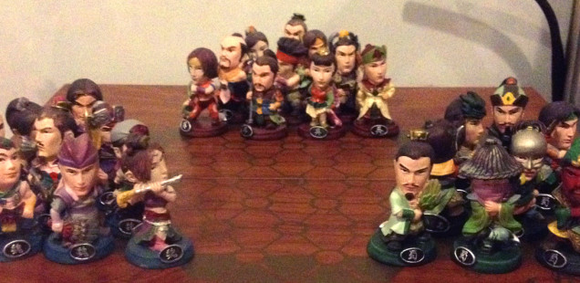 Dynasty Warriors Checkers