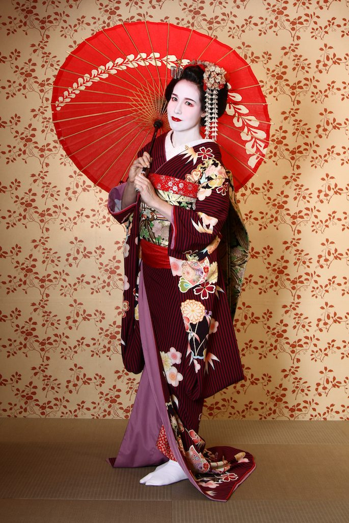 Me in Formal Kimono with Parasol