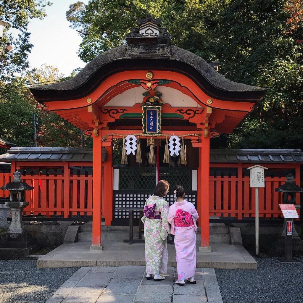 Fushimi Inari - Women in Kimono