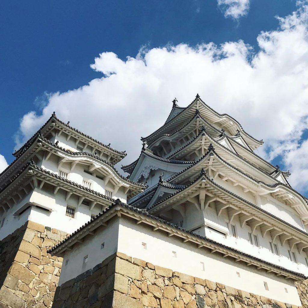 HImeji Castle - Looking Up