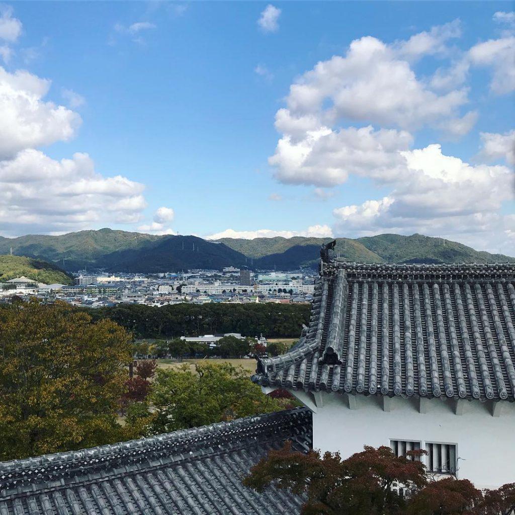 Himeji Castle - City View