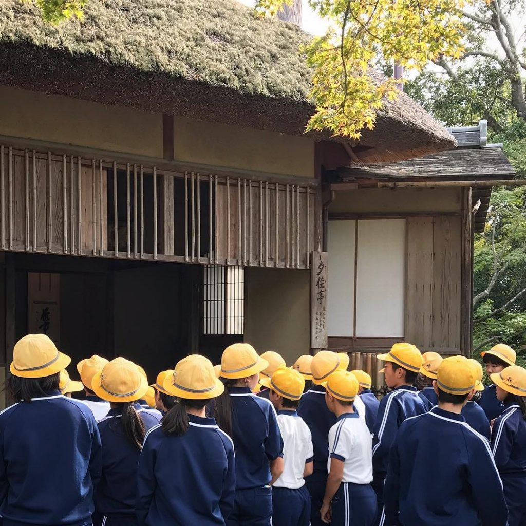 Kinkaku-ji - Students on Field Trip