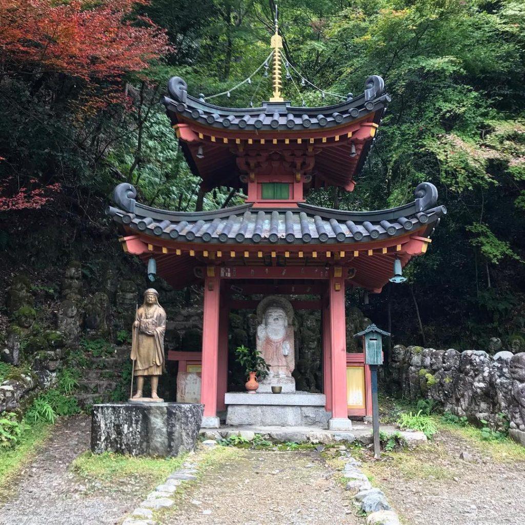Otagi-Nenbutsu-ji - Shrine