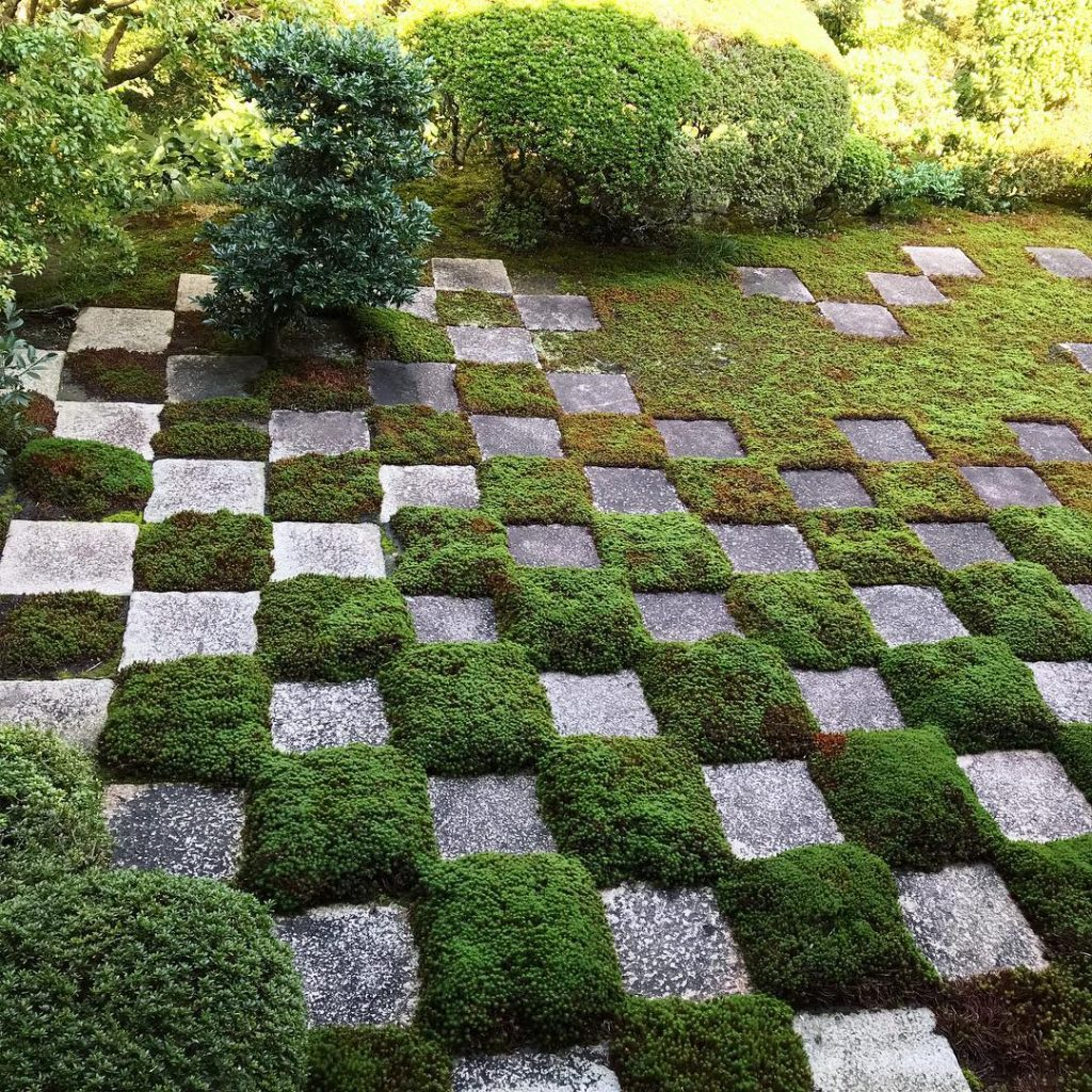 Tofuku-ji - Mossy Checkerboard