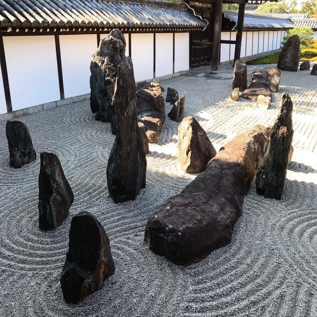 Tofuku-ji - Rock Garden